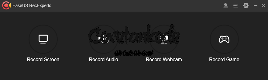 Aplikasi Screen Recorder Terbaik - EaseUS RecExperts