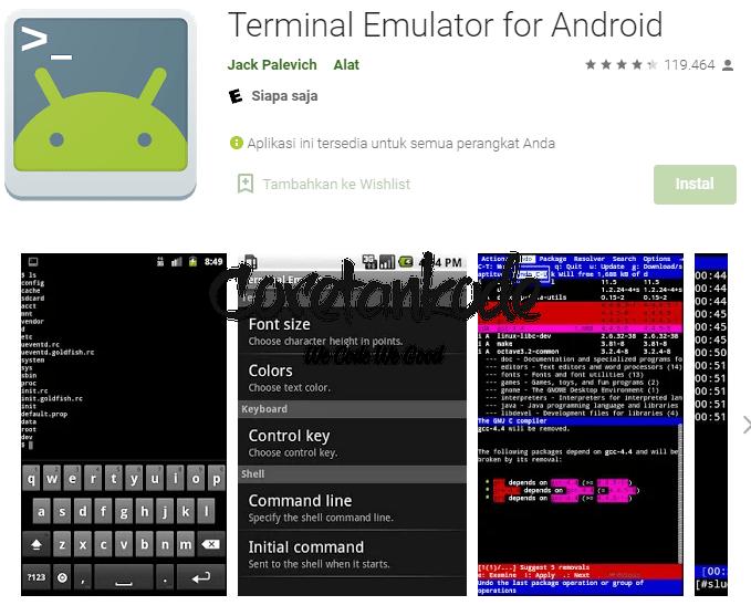 Cara Memperlancar Koneksi Internet Android (Terminal Emulator)