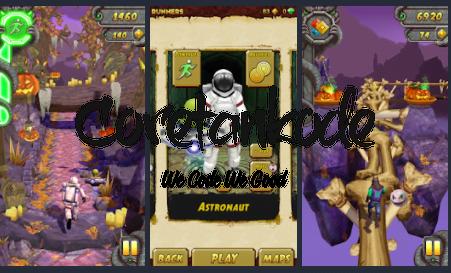 Gameplay temple run 2 MOD APK Unlimited Money - CoretanKodeCOM